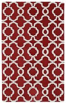 Kaleen Rugs Revolution Collection REV03-25 Red Hand Tufted 2' x 3' Rug
