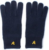 Lyle & Scott New Navy Racked Rib Gloves