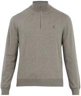 Polo Ralph Lauren Long-sleeved zip-through wool sweater