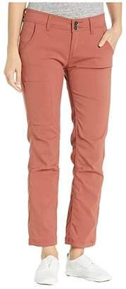 Prana Halle Straight Pants (Black) Women's Casual Pants