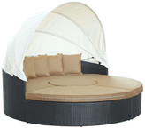 Modway Quest Canopy Daybed Seating Group with Cushions
