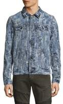 True Religion Danny Ripped Cotton Jacket