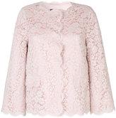 Dolce & Gabbana lace jacket - women - Silk/Cotton/Polyamide/Viscose - 44