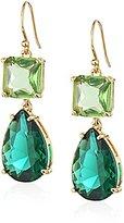 Kate Spade Emerald Multi-Drop Earrings