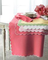 "Matouk Savannah Gardens Tablecloth, 90"" Round"