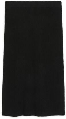 Arket Straight-Fit Knitted Skirt