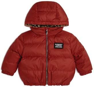 Burberry Kids Hooded Puffer Jacket