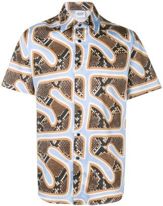 SSS World Corp Hawaiian Short Sleeve Shirt