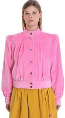 Marc Jacobs Jacket In Rose-pink Velvet