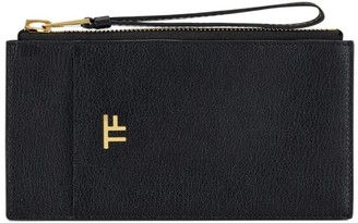 Tom Ford Classic Leather Wrist Strap Pouch