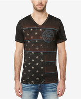 Buffalo David Bitton Men's Flag-Print T-Shirt