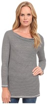 Three Dots 3/4 Sleeve Cowl Tunic