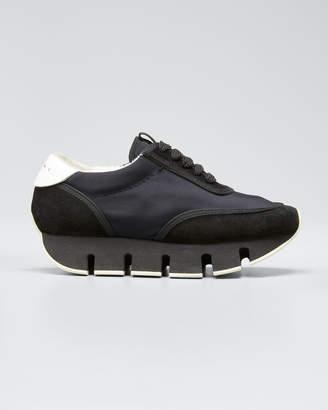 Marni Big Cut Suede Sneakers