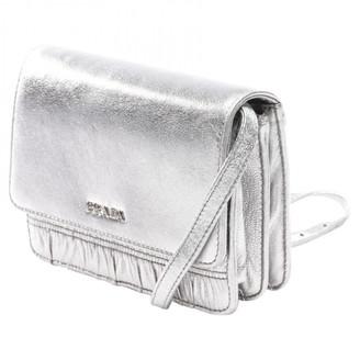 Prada Metallic Leather Clutch bags