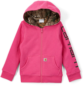 Carhartt Raspberry Reversible Zip-Up Hoodie - Girls