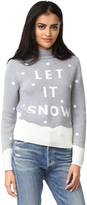 MinkPink Let It Snow Intarsia Sweater