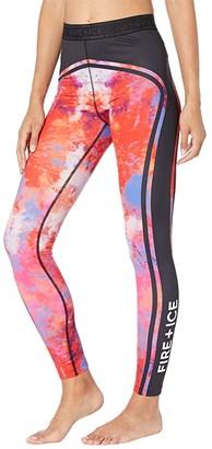 Bogner Fire & Ice Bogner Tamira Tights (Cloud Print) Women's Casual Pants