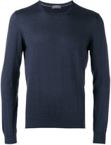 Barba crew-neck jumper - men - Silk/Cashmere - 48