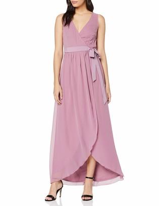 Little Mistress Women's Phoebe Maxi Wrap Dress Party