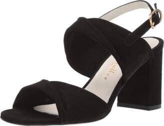 Bettye Muller Women's Angel Sandal Black 38.5 Medium EU (8.5 US)
