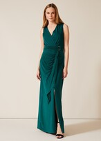 Thumbnail for your product : Phase Eight Caylee Drape Maxi Dress