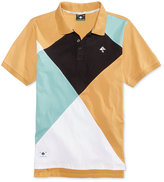Lrg Men's Dimensions Argyle Cotton Polo