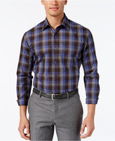 Tasso Elba Men's Plaid Long-Sleeve Shirt, Classic Fit