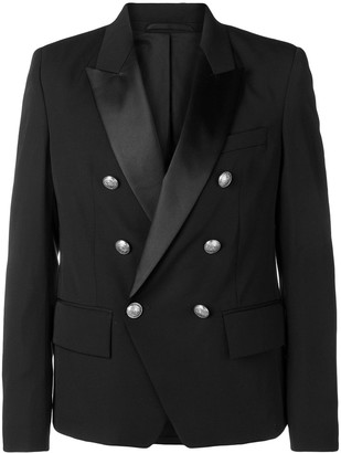 Balmain Double-Breasted Tuxedo Jacket