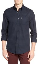 Ben Sherman Men's Dogtooth Sport Shirt