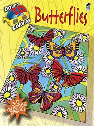 Dover Butterflies 3-D Coloring Book)