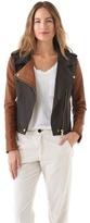 Shine Marlon Leather Jacket