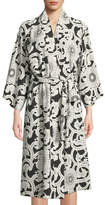 Natori Silk Road Long-Sleeve Robe