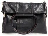 Hobo 'Suzen' Leather Satchel - Black