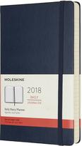 Moleskine Large Sapphire Blue 2018 Twelve-Month Daily Planner