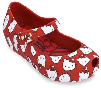 Mini Melissa Baby's, Little Girl's & Girl's Hello Kitty Mary Jane Flats