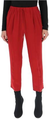 Max Mara Cropped Drawstring Trousers