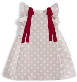 Hucklebones London Polka Dot Trapeze Dress