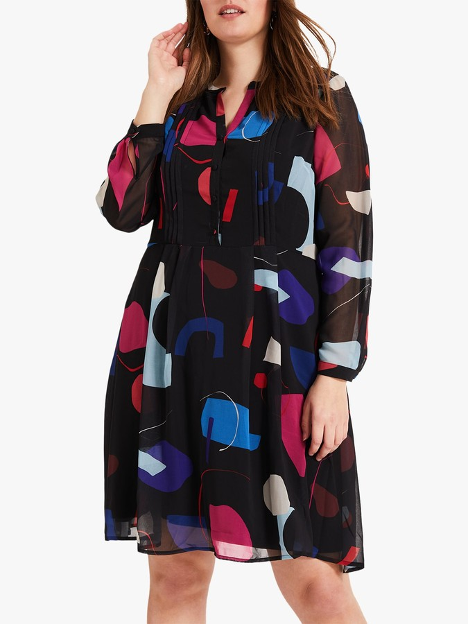 Studio 8 Tamara Print Dress, Black/Multi