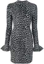 MICHAEL Michael Kors patterned fitted dress