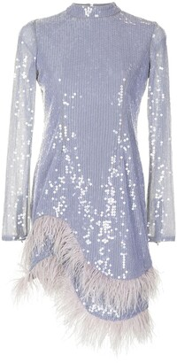 Rachel Gilbert Ellis sequin-embellished dress