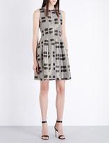 Anglomania Joan patterned jacquard dress