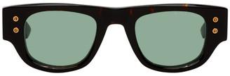 Dita Tortoiseshell and Green Muskel Sunglasses