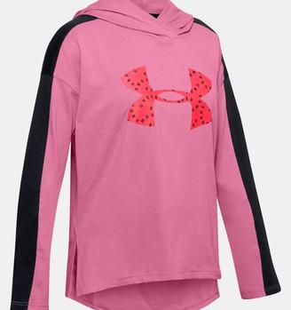 Under Armour Girls' UA Favorite Jersey Hoodie