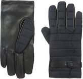 Ted Baker Men's Fabric and Leather Glove