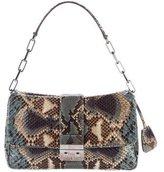 Christian Dior Snakeskin New Lock Flap Bag