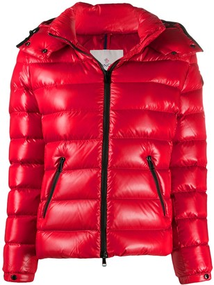 Moncler Feather-Down Puffer Coat