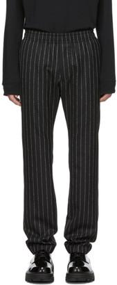 Alyx Black Pinstripe Elasticized Trousers
