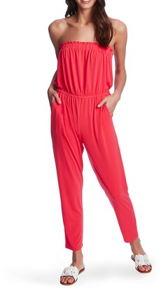 1 STATE Strapless Knit Jumpsuit