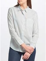 Levi's Sidney Boyfriend Stripe Shirt, Lupin Cashmere Blue