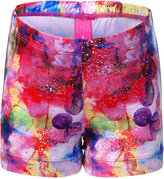 Future Star By Capezio Watercolor Glow Printed Shorts, Little Girls (2-6X) & Big Girls (7-16)